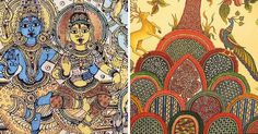 Image result for south indian folk art painting