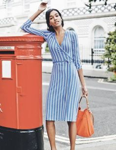 Wrap Dress WH723 Day Dresses at Boden