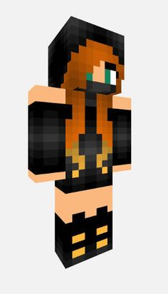 Minecraft Skin - Female Ninja. Download this Minecraft Female Ninja Skin in the Universal 64x32 format!