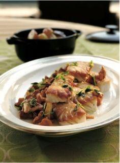 Pan-roasted halibut from Thomas Keller's Ad Hoc at Home