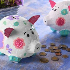 Sunday School Crafts, Piggy Bank, Diy For Kids, Biodegradable Products, Kids Toys, Activities For Kids, Projects To Try, Arts And Crafts, Paper