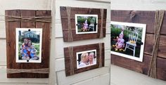 Rustic Wooden Photo Frame I 5x7