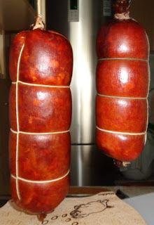 Czary mary gotuje Cezary: Kiełbasa wieprzowa z łopatki. Making Hot Dogs, Smoking Meat, Charcuterie, Chorizo, Ham, Sausage, The Cure, Food And Drink, How To Make
