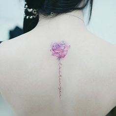 : flower  .  .  #tattooistbanul #tattoo #tattooing #rose #rosetattoo #flowertattoo #watercolor #watercolortattoo #tattoosupplybell #tattooartist  #tattooart  #타투이스트바늘 #타투 #꽃타투 #컬러타투