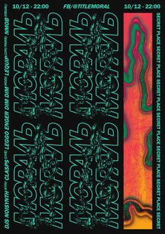 Gig Poster by Anton Synytsia - Gig Poster by Anton Synytsia Gig Poster by Anton Synytsia Graphic Design Posters, Graphic Design Typography, Graphic Design Inspiration, Graphic Art, Poster Designs, Layout Design, Print Design, Flyer Design, Plakat Design