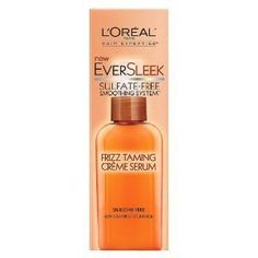Loreal Paris Eversleek Sulfatefree Smoothing System Frizz Taming Creme Serum 19 Fluid Ounce Pack of 3 -- Details can be found by clicking on the image.