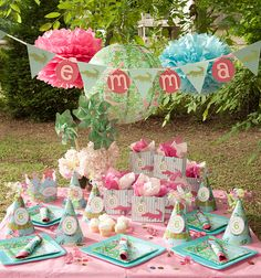 Later Gator Personalized Deluxe Party Package*Lilly Pulitzer*