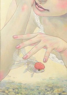 The amazing digital art — theartofanimation: Miho Hirano - . Painting Inspiration, Art Inspo, Copic, Art Nouveau Illustration, Sun Art, 3d Artwork, Woman Drawing, Beauty Art, Cover Art