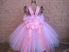 First Birthday, Tutu Dress, SOFT PINK and White, Fluffy, Stretchy Bodice, Baby 3-24 Months, Weddings,Gifts, Beautiful Photos