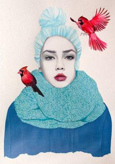 <p>Working as a freelance illustrator in Southern Ontario, Jenny Liz Rome has some pretty gorgeous work in her portfolio. She creates dynamic fashion images inspired by wildlife, modern women, classic