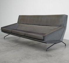 George van Rijk; Sofa for Beaufort, 1955. #Pin_it @Mundo das Casas See more Here: www.mundodascasas