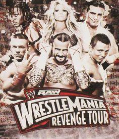 "WWE – RAW ""WrestleMania Revenge Tour"" @ Palalottomatica – Roma 2012"
