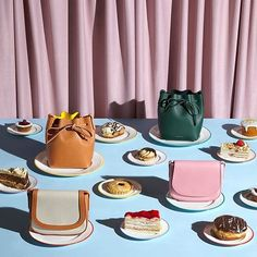 Morning delight consisting of cake and handbags is exactly what we need!  via @aaron_tilley #aarontilley #morningdelight #cake #doughnut #handbags #tablespread  via FASHION TRENDS on INSTAGRAM -Celebrity  Fashion  Haute Couture  Advertising  Culture  Beauty  Editorial Photography  Magazine Covers  Supermodels  Runway Models