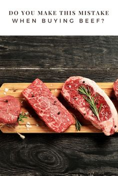 Do You Make this Mistake When Buying Beef? via @wendypolisi