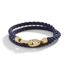 Journey Bracelet Unisex Navy, $79, now featured on Fab.