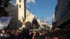 Virgen Dolorosa en el Santo Entierro de Tegucigalpa.