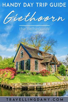 Giethoorn is a Dutch fairytale village in the Netherlands, the perfect day trip from Amsterdam. How to get there, what's the best time to go and more! Europe Travel Tips, Italy Travel, Travel Guides, Travel Destinations, Day Trips From Amsterdam, Amsterdam Travel, Amsterdam Itinerary, Cool Places To Visit, Places To Travel