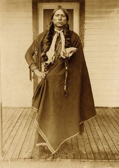 Quanah Parker - Tracking the last chief of the Comanche Nation from Texas's Fort Parker to Oklahoma's Fort Sill.