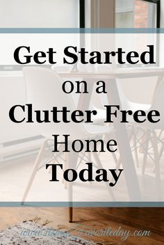 Great tips! I love the idea of an unsure box tucked away for a few months, with the date on it. If you find yourself living with clutter, check out these five simple steps to get you started with eliminating excess clutter and having a truly clutter free home once and for all! Repin this if you don't have time to read now!