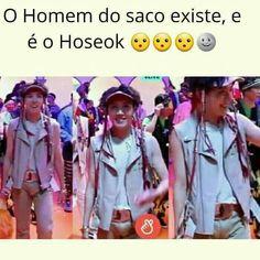 Kkk ☺ Hoseok me leva kkk ☺ Hoseok Bts, Bts Bangtan Boy, Jimin, Seokjin, Jhope, Bts Memes, K Pop, Bts Facts, Les Bts