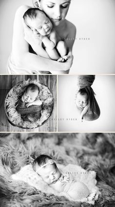 Kelly Ryden and Tracy Raver are awesome and are the most creative minds, in my opinion, when it comes to newborn baby posing!