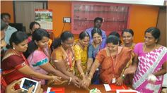 Chennais Amirta Women are the real architects of the society. Here our Real Architect Coo Madam is celebrating the Women's Day with our faculties by cutting the cake.
