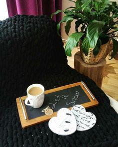 Crndesignbycerengirgin Masif ahşap tepsi / Wood tray