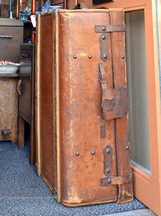 Vintage Travel Trunk Luggage