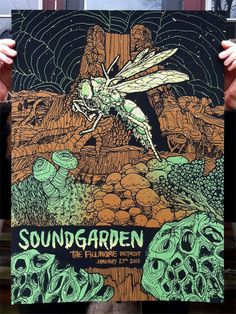 soundgarden- actually have this poster hangin in my room. Best show ever