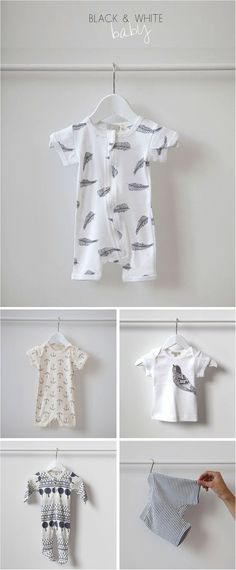 Have you seen these limited edition stylish black and white baby grows? Soft cotton and beautiful prints, they make a great newborn gift too.