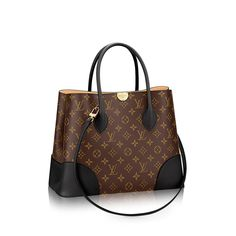 Discover Louis Vuitton Flandrin: With pure lines, a fresh shape, and exquisite details like its leather corners, the Flandrin in Monogram canvas and colorful leather is for those looking for an iconic yet casual bag. It can be carried by hand, on the elbow, or over the shoulder for a more easy-going look.