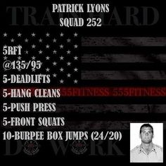 555 Fitness is a Firefighter owned and operated Charity. Our goal is to reduce the leading killer of firefighters cardiac related disease. We do this by providing free workouts nutritional advice and fitness equipment to firefighters in need. Crossfit Lifts, Wods Crossfit, Crossfit At Home, Reebok Crossfit, Fitness Video, Fitness Tips, Fitness Motivation, Gym Fitness, Fitness Weightloss