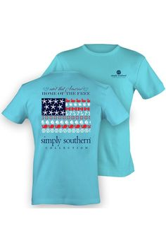 Simply Southern Home of the Free Tee