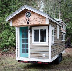 160 Sq. Ft. Rewild Tiny Home on Wheels 001