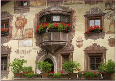 Gasthof,Oetz,Tyrol,Austria.