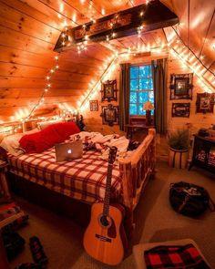 Room Design Bedroom, Room Ideas Bedroom, Diy Bedroom Decor, Home Decor, Girls Bedroom, Wall Decor, Christmas Bedroom, Cozy Christmas, Aesthetic Room Decor