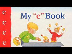 "My ""e"" Book by Jane Belk Moncure E Words, Letters For Kids, Teaching Letters, Letter E, Preschool Books, Bedtime Stories, Stories For Kids, Read Aloud, Language Arts"
