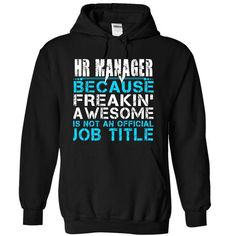 HR Manager - #summer tee #sweatshirt ideas. GET YOURS => https://www.sunfrog.com/LifeStyle/VIP-HR-Manager-Girl-8102-Black-6050349-Hoodie.html?68278