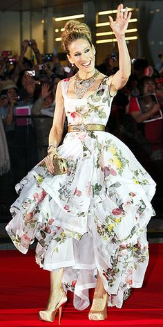 Sarah Jessica Parker I just love the dress so much