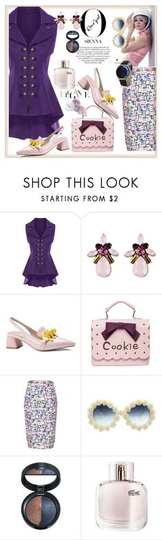 """""""Rosegal"""" by pesanjsp ❤ liked on Polyvore featuring Laura Geller and Lacoste"""