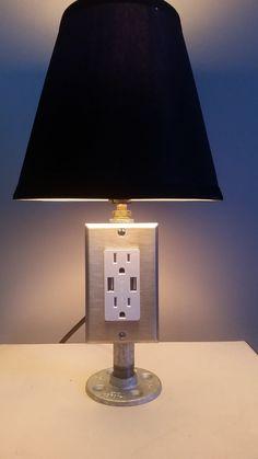 Build A Lamp Combo Usb Charger Easy Fun Diy Diy Home