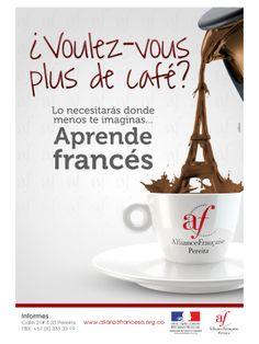 Afiche aprende francés