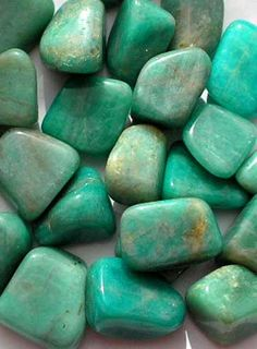 AMAZONITE-treat heart trouble and metabolic disorders, lifts depression and reduces anxiety, alleviates headaches and migraines, calming effect, corrects mood swings, helps wearer come to terms with grief, promotes confidence, vitality, and joy of life. Place under the pillow for restorative sleep.