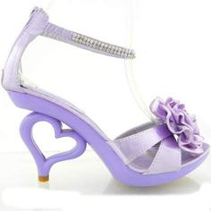 Purple Heels For Kids | Tsaa Heel