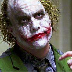 Heath Ledger's Joker - The Dark Knight Heath Legder, Joker Heath, Heath Ledger Quotes, Heath Ledger Joker Wallpaper, Joker Dark Knight, Joker Pics, Batman Comics, Dc Comics, Batman Begins