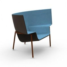 Simple but the most comfortable chair ever This chair was presented by designer Doshi Levien at the Milan furniture fair. It is a modern view o...