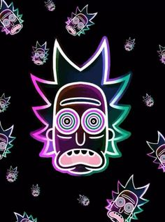 Rick and morty wallpaper psicodelico. Gambit Wallpaper, Trippy Wallpaper, New Wallpaper, Iphone Wallpaper, Trippy Cartoon, Rick And Morty Drawing, Rick And Morty Poster, Graffiti Doodles, Supreme Wallpaper