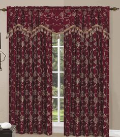 The Sinclair Grommet Curtains is an elegant addition to any window