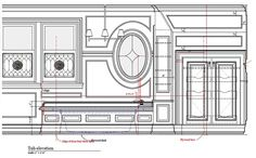 » 2014 » February Drawing Interior, Technical Drawings, Furniture Ideas, February, Floor Plans, Carving, French, Tattoo, How To Plan