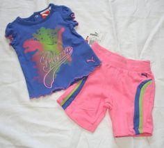 Puma Baby/Infant Girl's 2 Piece Shorts Set – « Clothing Impulse